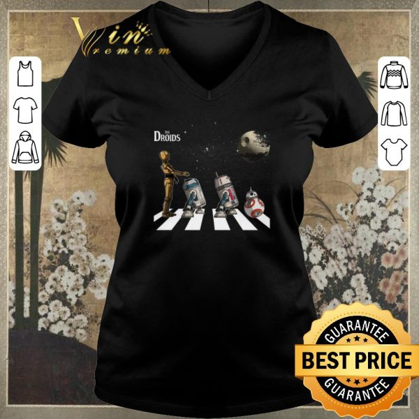 Hot Star Wars The Droids Abbey Road shirt sweater
