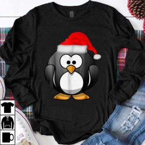 Hot The Christmas Penguin Penguins Tee shirt