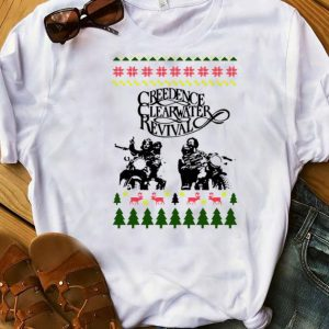 Hot Ugly Christmas Creedence Clearwater Revival shirt