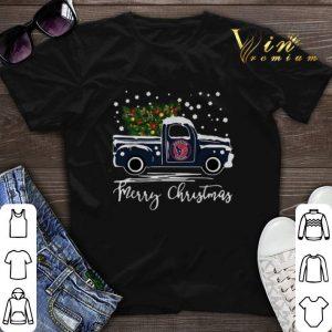 Houston Texans truck Merry Christmas shirt sweater