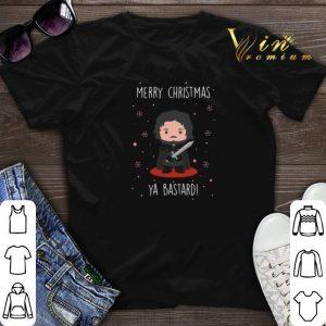 Jon Snow Merry Christmas Ya Bastard shirt sweater