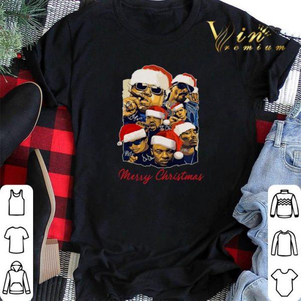 Merry Christmas Notorious Big Snoop Dogg Ice Cube Eminem Tupac shirt