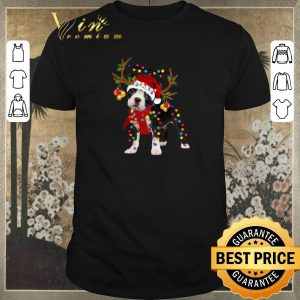 Nice Boston Terrier gorgeous reindeer Christmas shirt