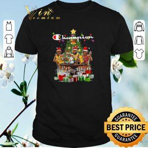 Nice Champion LeBron James Kobe Bryant Michael Jordan Christmas shirt sweater