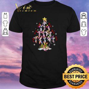 Nice Christmas tree Ballet shoes shirt
