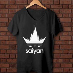 Nice Dragon Ball Z DBZ Saiyan Adidas shirt