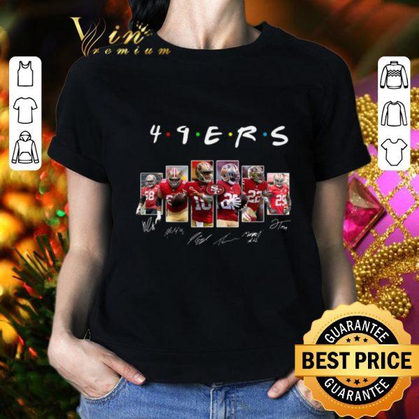 Nice Friends San Francisco 49ers signatures shirt