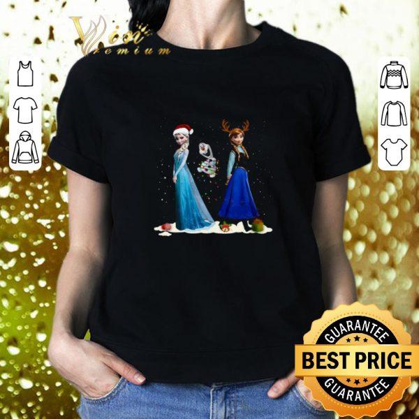 Nice Frozen 2 Anna Elsa Christmas shirt