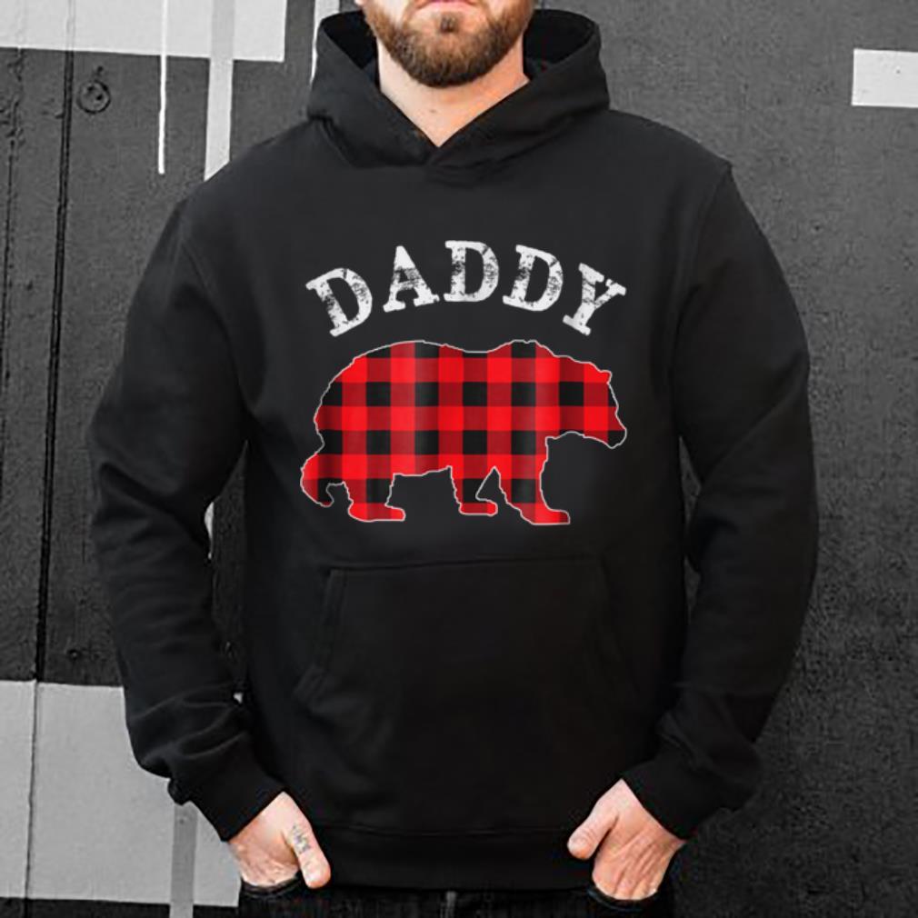 Nice Red Plaid Daddy Bear Matching Buffalo Pajama sweater 4 - Nice Red Plaid Daddy Bear Matching Buffalo Pajama sweater