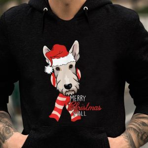 Nice Scottie Dog Merry Christmas Y'all Xmas Gift sweater