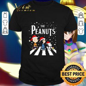 Nice The Peanuts Abbey Road Christmas shirt