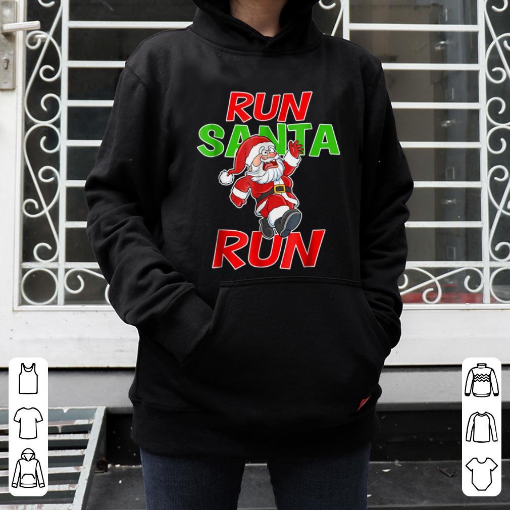 Official Christmas Running Gift Santa Run 5k Race Runner Tee sweater 4 - Official Christmas Running Gift Santa Run 5k Race Runner Tee sweater