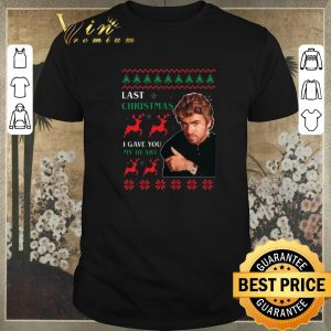 Official George Michaels Last Christmas I gave you my heart shirt sweater