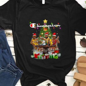 Official LeBron James Kobe Bryant Michael Jordan Champion Christmas Tree Gift shirt