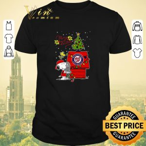 Official Merry Christmas Washington Nationals Snoopy Woodstock shirt