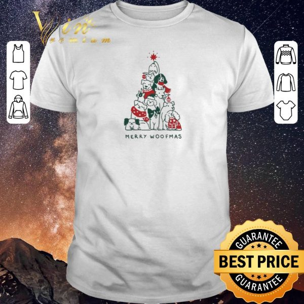 Official  Merry Woofmas Christmas shirt sweater