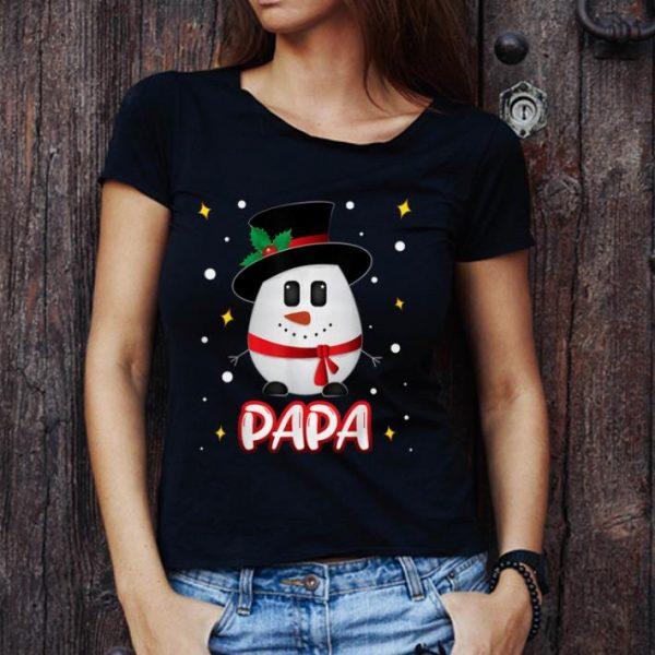 Official Papa Snowman Christmas Xmas Matching Family Group shirt