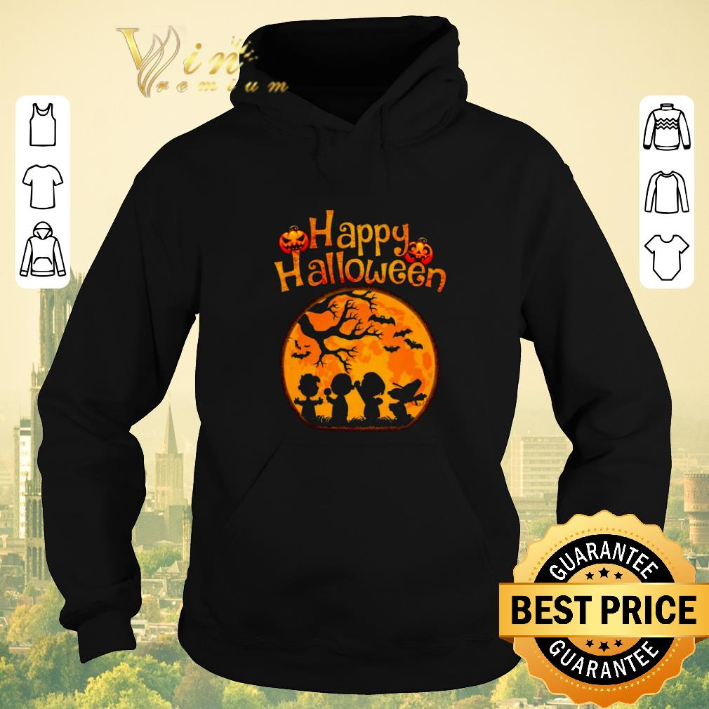 Official Peanuts characters Happy halloween shirt 4 - Official Peanuts characters Happy halloween shirt