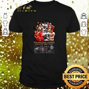 Official Philadelphia Legends Est 1682 Signatures shirt