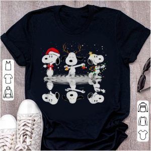 Official Snoopy Water Reflection Christmas shirt