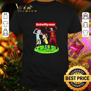Official Supreme Schwifty-mas Rick and Morty Joker dancing Christmas shirt
