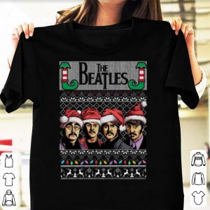 Official The Beatles Ugly christmas shirt