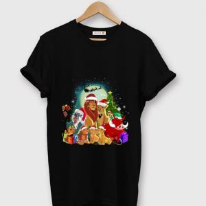 Official The Lion King Characters Merry Christmas shirt