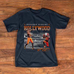 Original Cleveland Browns Rashard Higgins Hollywood Signature shirt