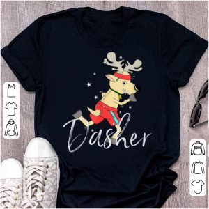 Original Dasher Cute Reindeer Funny Christmas Group Set Tee shirt