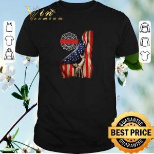 Original Firefighter Logo American flag shirt sweater