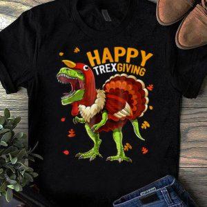 Original Happy Thanksgiving T Rex Dinosaur Turkey Costume Gift shirt