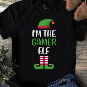 Original I'm The Gamer Elf Matching Family Christmas shirt
