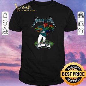 Original Monster Metallica Philadelphia Eagles shirt sweater