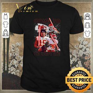 Original Signatures Come To The Kansas City Chiefs Side Star Wars shirt