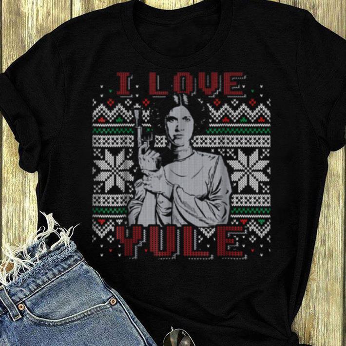 Original Star Wars I Love Yule Leia Christmas Humor shirt 4 - Original Star Wars I Love Yule Leia Christmas Humor shirt