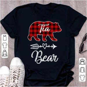 Original Tia Bear Matching Family Christmas Pajamas Men Women shirt