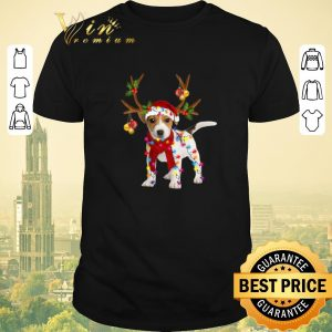Premium Christmas Jack Russell Reindeer shirt