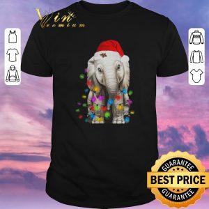 Premium Elephant String Light Christmas shirt sweater