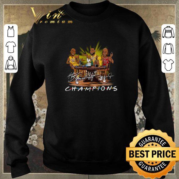 Premium LeBron James Kobe Bryant Michael Jordan Champion Friends shirt sweater