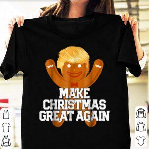 Premium MAKE CHRISTMAS GREAT AGAIN Funny Trump Cookie Gift shirt