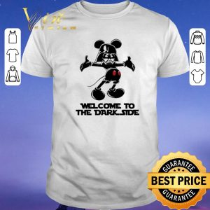 Premium Mickey Darth Vader welcome to the dark side shirt sweater