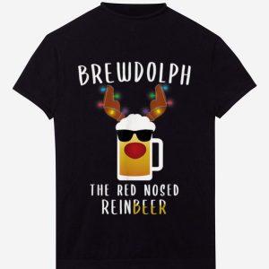 Premium Reindeer Beer Rudolph Brewdolph Funny Christmas Gift Idea shirt