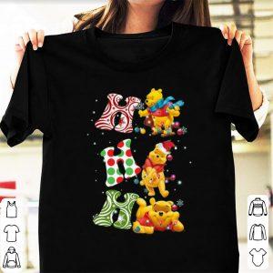 Premium Santa Pooh Ho Ho Ho Christmas shirt
