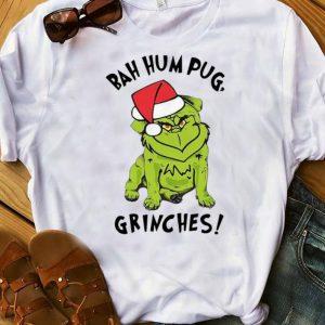 Pretty Bah Hum Pug Grinches Christmas shirt