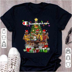 Pretty Lebron James Kobe Bryant Michael Jordan Champion Christmas Tree shirt