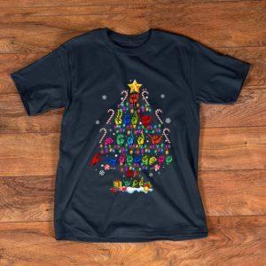 Pretty Sign Language Christmas Tree shirt