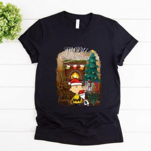 Pretty Snoopy Charlie Brown Merry Christmas shirt