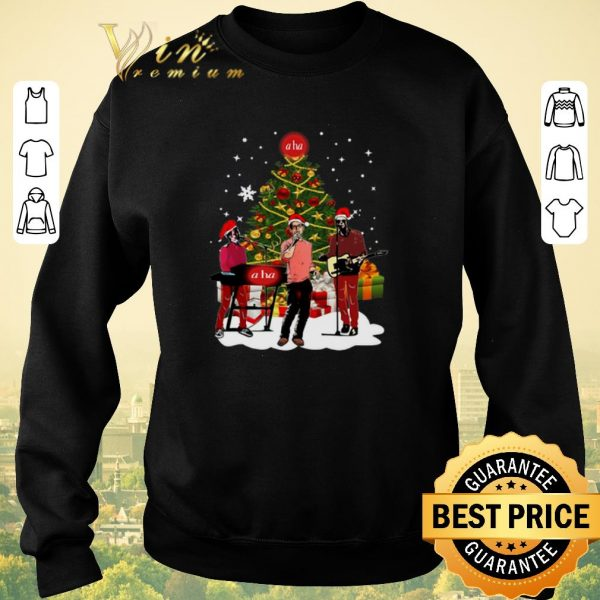 Pretty a ha Christmas tree shirt sweater