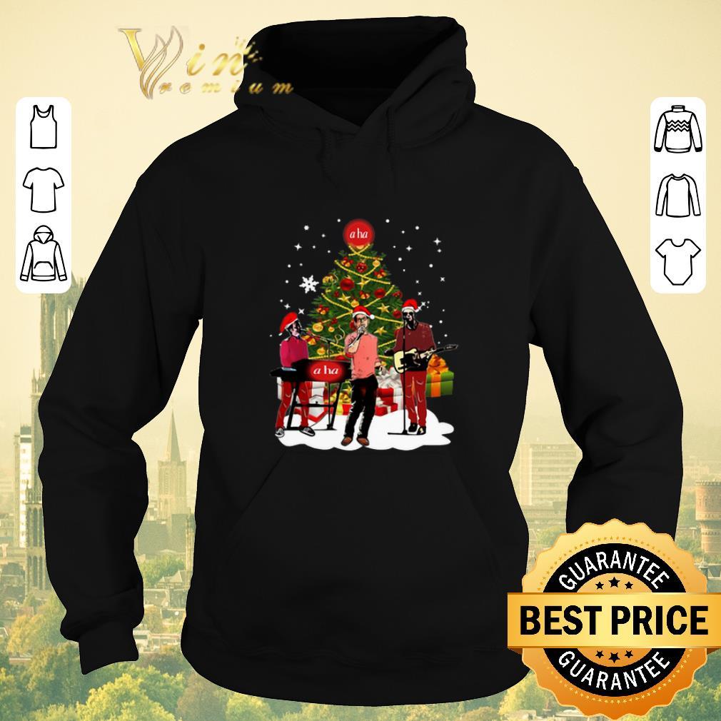 Pretty a ha Christmas tree shirt sweater 4 - Pretty a ha Christmas tree shirt sweater