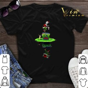 Rick And Morty Crossover The Grinch Stole Plumbus shirt sweater